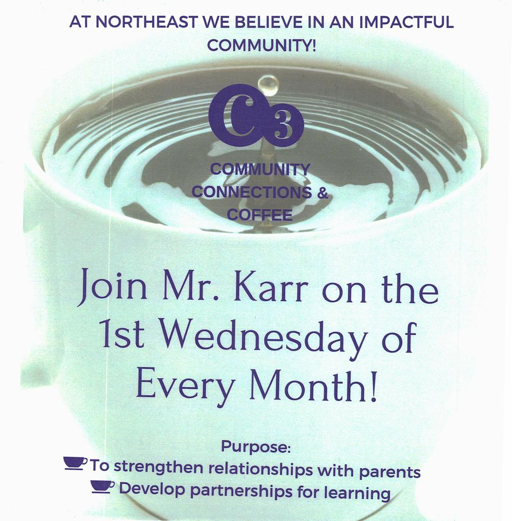 C3: Community Connections and Coffee with Mr. Karr