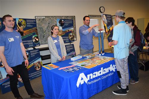 Anadarko Petroleum Corp. was at the 3E Fair.