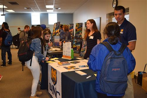 The University of Northern Colorado was at the 3E Job Fair.