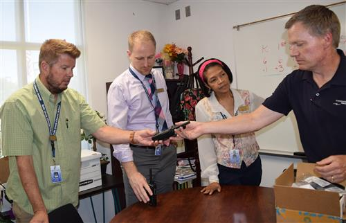 Belle Creek Charter School gets more security radios