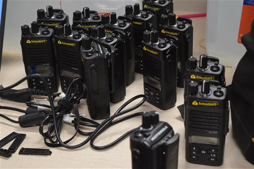 More than 300 additional security radios have been delivered to all 27J schools