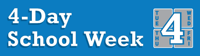 Four Day School Week banner