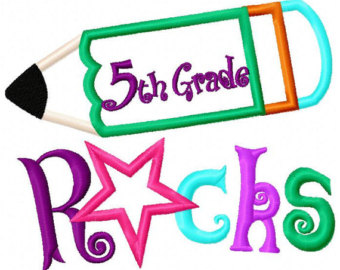 fifth grade homepage