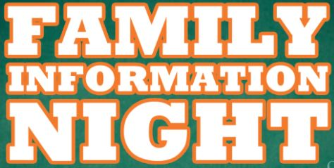 Family Interest Night
