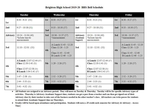 Social Security Payment Calendar 2020.Brighton High School Homepage