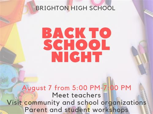 Brighton High School / Homepage