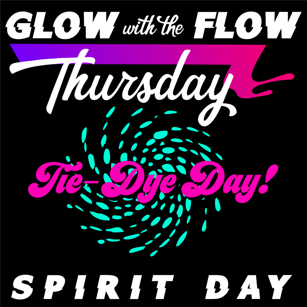 Thursday Spirit Day - Tie-Dye Day