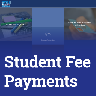 Student fee payments button