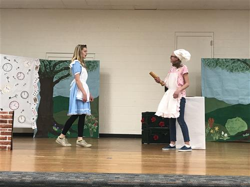 Alice In Wonderland is being performed at OTMS on March 8 and 9.