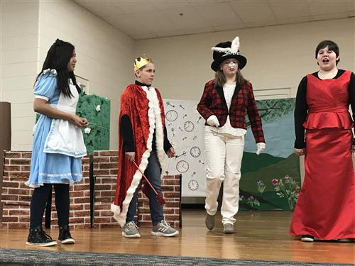 Alice in Wonderland playing at OTMS.