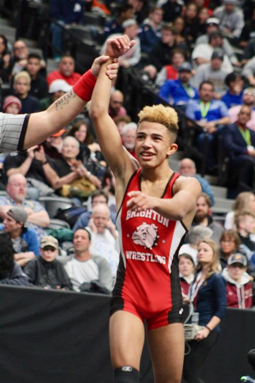 BHS state champion Kenny Sailas