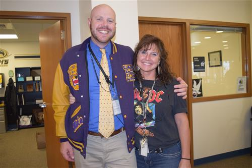 Spirit week includes Decades dress from the 1990s and 1980s.