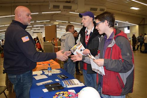 Brighton High students attended the Apprenticeship Fair