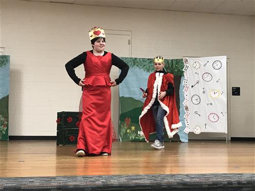 Queen of Hearts takes a stand
