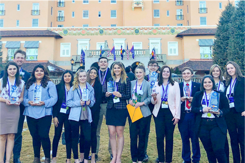 BHS DECA excels at 2019 State Conference