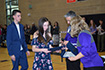 Stuart Middle's 8th grade Continuation presents principal's medals