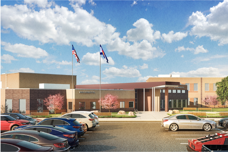 rendering of elementary 13 exterior